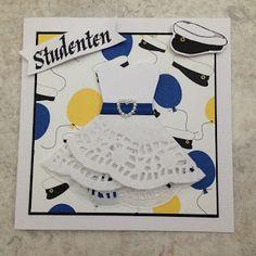 Studenten er stort i Sverige så nå for tiden blir det mye produksjon av studentkort. Er invitert på 4 studentfester så da må man jo väre ...