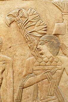 Saqqara (Middle Egypt), Tomb of Kagemni – Mastaba 25 (Mastaba of the vizier Kagemni; Old Kingdom, early 6th dynasty, after 2347 BC).Figs