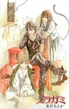 Yato, Hiyori & Yukine | Noragami