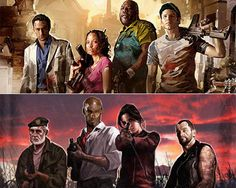 Left 4 Dead, I just started playing the first one and I like it A LOT more then the second one!