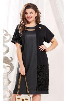 Черные платья больших размеров Short Sleeve Dresses, Dresses With Sleeves, Plus Size Dresses, Casual, Queen, Fashion, Moda, Sleeve Dresses, Fashion Styles