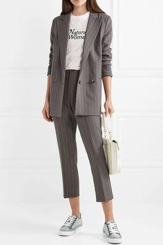 479040a89f3a Tatum stretch-twill striped pants   WORK CHIC in 2019   Clothes ...