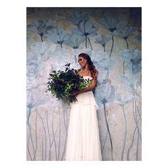 Крутая стена у @h_i_p.ru Модель @nastya_fire MUAH @glazgoow