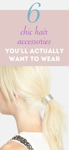 Chic hair accessorie