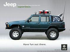 Jeep XJ ad
