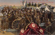 Balkan War 1912 13 Greek Soldiers Display Their War Trophies Greek Soldier, Greek History, Ottoman Empire, Wwi, Greece, Display, Soldiers, Painting, Ebay