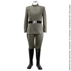 STAR WARS™ - Men's Imperial Officer - Olive Uniform Package - Standard Line (PRE-ORDER)