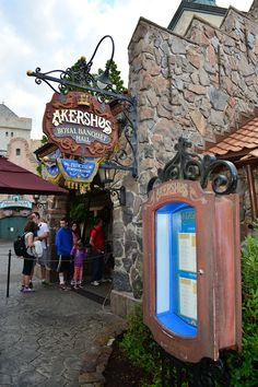 Walt Disney World Epcot Akershus Royal Dining Princess Character Meal