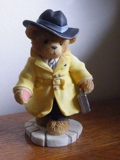 Enesco 2001 Cherished Teddies T James Bear Members Only Figure CT007 Hillman