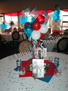 Perfect Patriotic Centerpiece! Celebrate the Freedom of sharing Jesus!