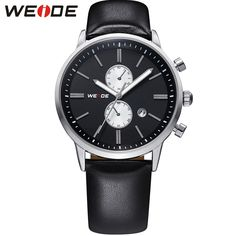 WEIDE Genuine Casual Leather Watches Men Waterproof 30 Meters Top Brand Luxury Japan Quartz Movement Analog Date Watch For Man     Tag a friend who would love this!     FREE Shipping Worldwide     Get it here ---> https://shoppingafter.com/products/weide-genuine-casual-leather-watches-men-waterproof-30-meters-top-brand-luxury-japan-quartz-movement-analog-date-watch-for-man/