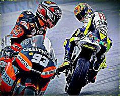 Marc Marquez & Rossi