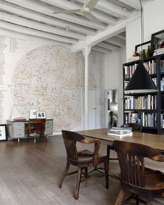 unique dining room & wall decor