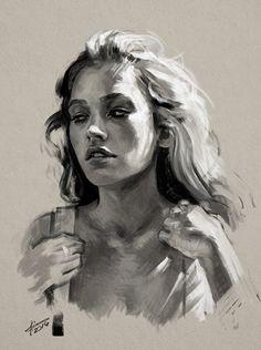 Portrait study #5 by saint-max on deviantART