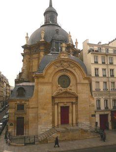Temple de la Visitation, 17 rue Saint Antoine, le Marais, Paris.