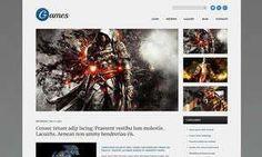 Video Games & Gaming Blog WordPress Themes - Games