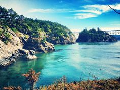 Deception Pass to whidbey island #washington #whidbeyisland