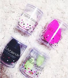 The Beauty Blender comes in four variants and they all have a different use. | 14 Tips Everyone With A Beauty Blender Needs To Know