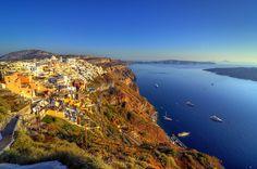 LOCATIONS Imerovigli Santorini, Santorini Hotels, Santorini Travel, Santorini Island, Santorini Greece, Greece Wallpaper, Nature Wallpaper, Seaside Village, Top Destinations