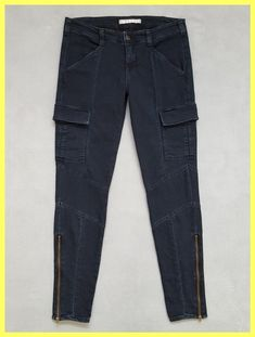 J Brand Olympia Blue Medium Wash Houlihan Skinny Stretch Zip Ankle Pants Cargo Jeans Size 28 (4, S). Free shipping and guaranteed authenticity on J Brand Olympia Blue Medium Wash Houlihan Skinny Stretch Zip Ankle Pants Cargo Jeans Size 28 (4, S)Good Pre-owned Condition $238 J Brand Houlihan Ski...