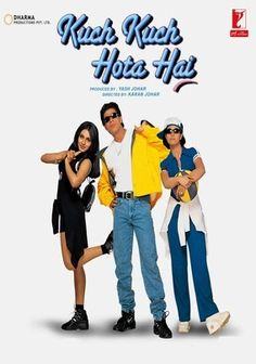 Kuch Kuch Hota Hai (1998) Just because you put sunglasses on SRK doesn't make him young enough to be a college student.  I can't fully approve of any movie that kills off Rani Mukherjee (even though she makes a lovely angel).