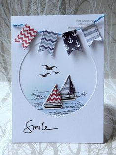 Marina is hosting for us at City Crafter this week with a great challenge Hang Out The Flags Photo Credit . Birthday Cards For Boys, Masculine Birthday Cards, Dad Birthday Card, Masculine Cards, Homemade Cards For Men, Kids Cards, Men's Cards, Greeting Cards, Mother Card