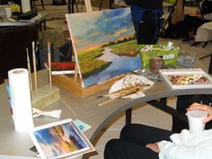Art Painting by Colleton River Club members