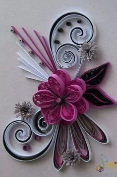 Neli is a talented quilling artist from Bulgaria. Her unique quilling cards bring joy to people around the world. Neli Quilling, Quilling Work, Paper Quilling Flowers, Paper Quilling Patterns, Origami And Quilling, Quilled Paper Art, Quilling Paper Craft, Paper Beads, Paper Crafts