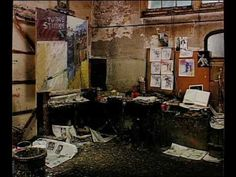 """Frank Auerbach, """"To the Studio"""""""