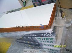 białe panele na wysoki w połysk