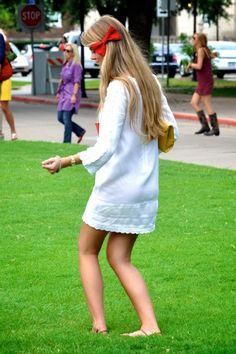 long sleeved summer dress