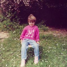 Moi quand j'était petite