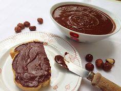 Vegan & Νόστιμο: Σπιτική Vegan Nutella Dairy Free, Gluten Free, Nutella, Raw Vegan, Vegan Food, Vegan Recipes, Paleo, Health Fitness, Pudding