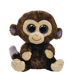 2583f019b0b Ty Beanie Boos Coconut Monkey Small