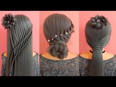 Easy Hairstyle For Long Hair Top 30 Asian - easy hair style for long hair Short Hair Updo, Short Hair Styles Easy, Easy Hairstyles For Long Hair, Little Girl Hairstyles, Up Hairstyles, Straight Hairstyles, Braided Hairstyles, Natural Hair Styles, Amazing Hairstyles