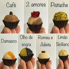 Brigadeiro Recipe, Brigadeiro Chocolate, Lolly Cake, Bolo Frozen, Chocolates, Mini Cupcakes, Cake Pops, Nutella, Catering