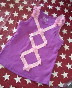 Rapunzel costume shirt, another cute option to an itchy sweaty costume at the park all day.