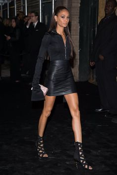 When it comes to personal style, Joan Smalls is literally a pro. Joan knows how to dress her long, slender figure — and we should all be taking notes.