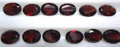 sale & free shipping 1.60 cts natural red garnet oval by 8gemsinc, $2.20