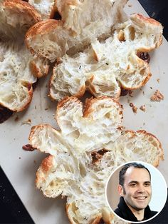 Make This Amazing Croissant Garlic Bread from Cronut Creator's New Restaurant: Dominique Ansel Kitchen http://greatideas.people.com/2015/04/30/dominique-ansel-kitchen-cronut-croissant-garlic-bread-recipe/?xid=socialflow_twitter_greatideas