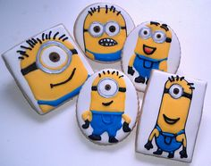 Despicable Me Minions Cookies