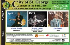 Concerts in the Park Series Vernon Worthen Park.