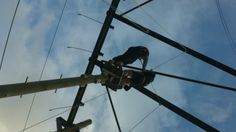 Feb 2014 Team Building, Utility Pole