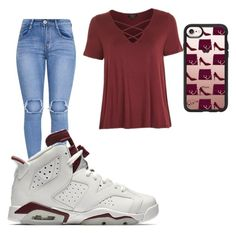 """""""Untitled #92"""" by daylajd on Polyvore featuring Topshop, NIKE and Casetify"""