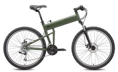 Montague Paratrooper 18in - Cammy Green - High Quality Folding Bicycle Frame -- Click image to review more details.
