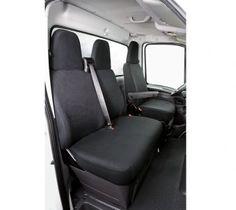 Iveco Daily IV Polyester Transportersitzbezüge Einzelsitz und Doppelbank vorne ab BJ 2006 bis heute