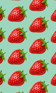 Food Wallpaper, Iphone Wallpaper, Wallpaper Fofos, Strawberry Decorations, Strawberry Fields Forever, Fruits Photos, Chocolate Cookie Recipes, Nature Drawing, Pattern Wallpaper