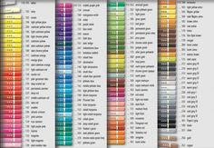 faber castell polychromos color chart - Google Search