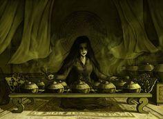 Gamelan Sorceress by yilin-tan.deviantart.com on @deviantART