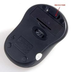 Red 2.4G Wireless Optical Mouse Set with Dpi Switch, works up to 30 Feet w/Nano receiver